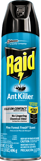 raid bug spray